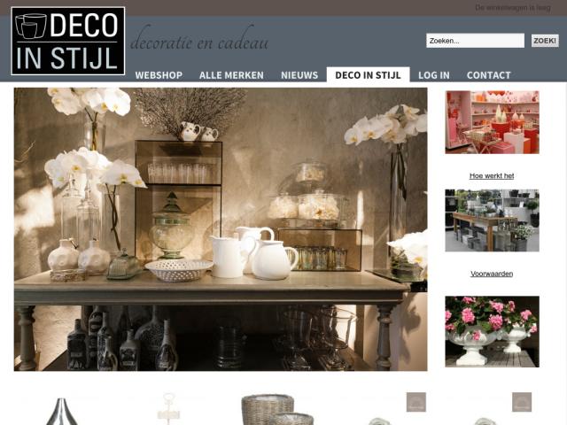 Deco in stijl groothandel decoratie potten vazen feanwalden - Deco stijl chalet ...