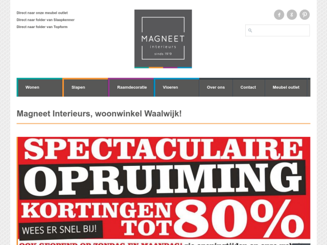 Magneet Interieurs Waalwijk